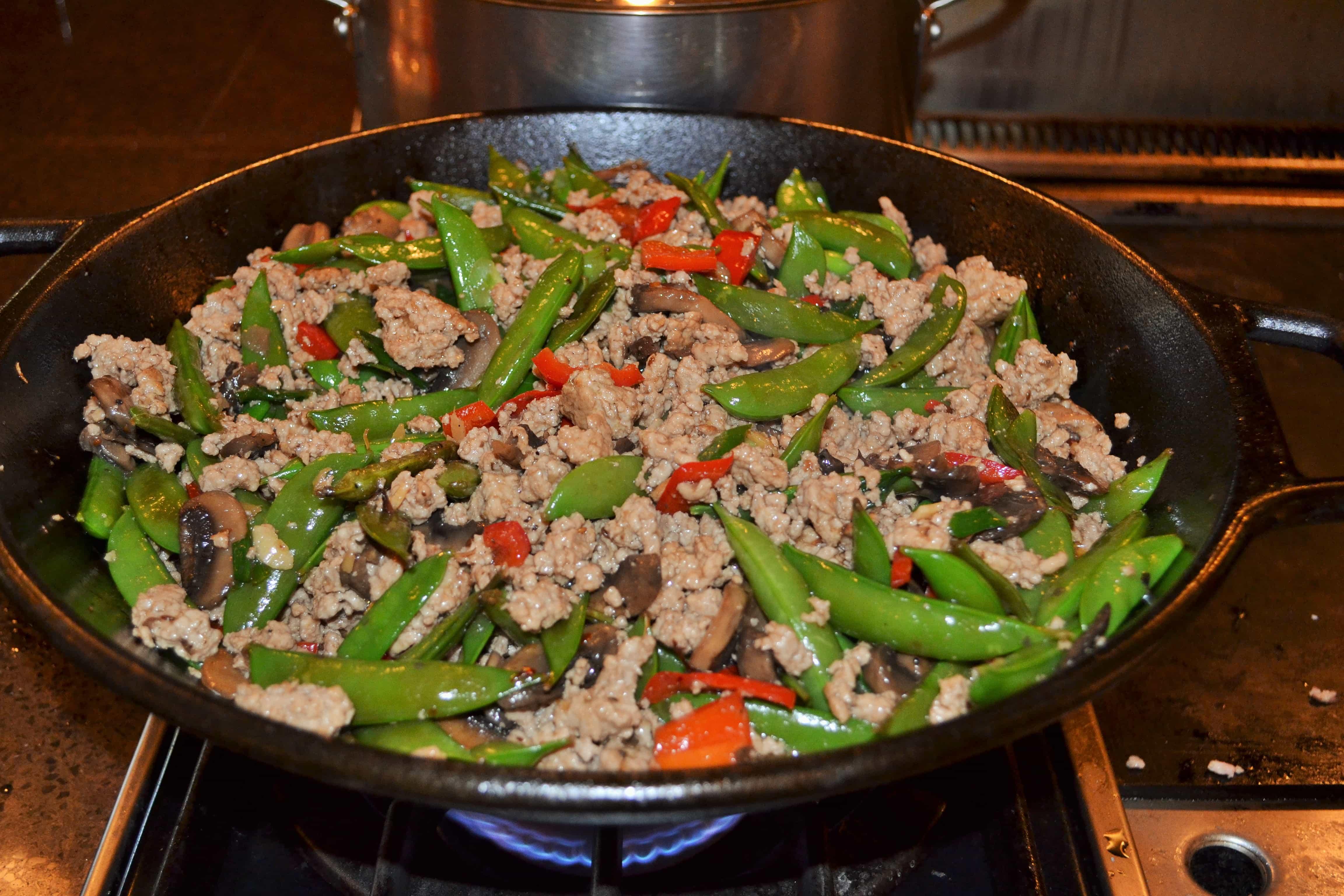 Easy Pork Stir Fry To Cook For A Crowd