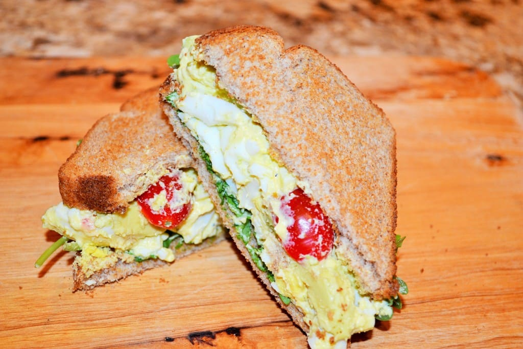 Perfect Egg Salad Sandwich