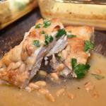 Moist hummus chicken
