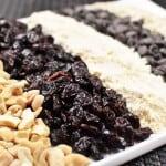 Healthy Oatmeal Bars Ingredients