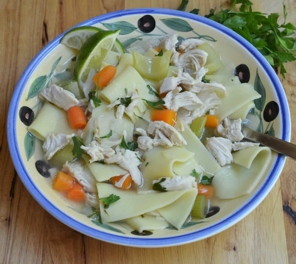 Chunky Chicken Noodle Soup blog