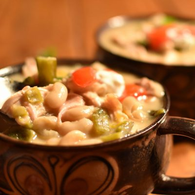 White Chicken Chili – A Halloween Story
