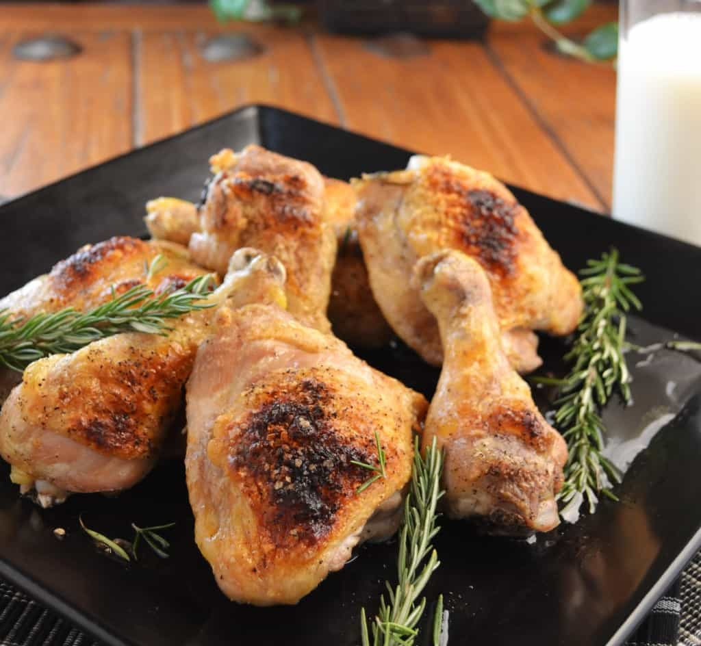 Baked Chicken Thighs And Drumsticks