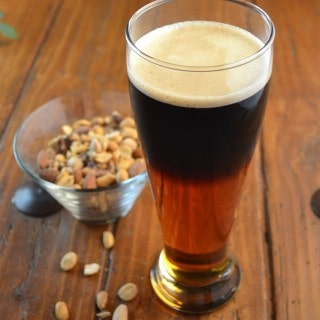 A Beautiful Black and Tan Beer