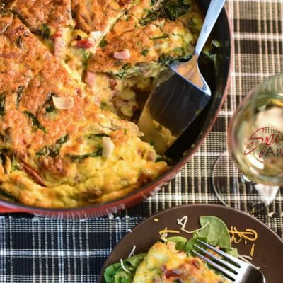 An Easy Frittata Recipe to Feed a Crowd