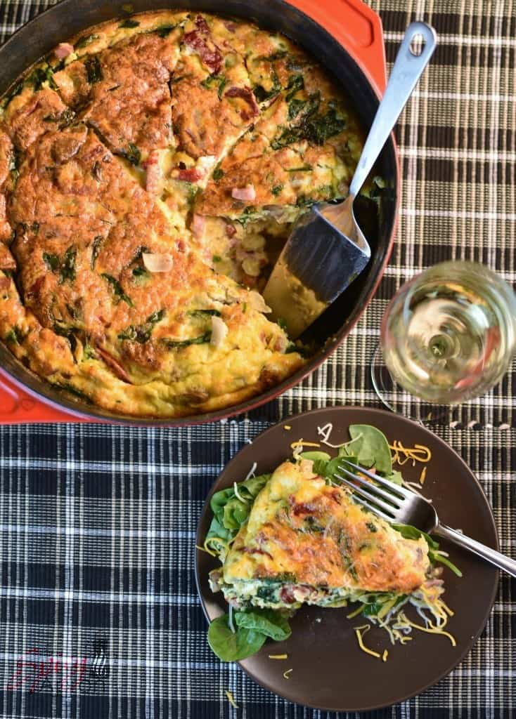 Frittata Recipe The Spicy Apron