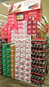 Coca-Cola Display Safeway