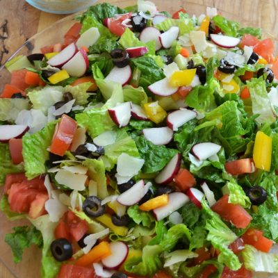 Green Salad – Crisp and Delicious Every Time!