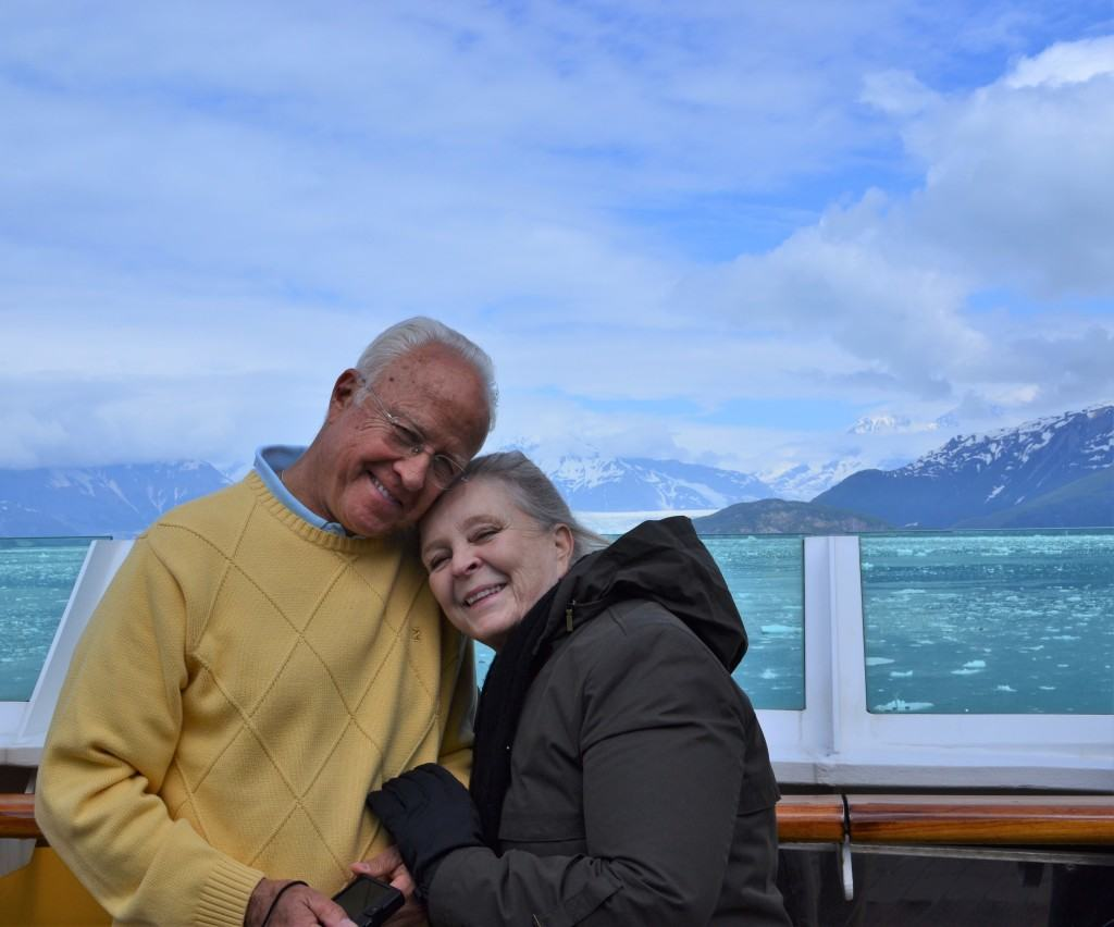 Mom and Dad The Spicy Apron Alaska Cruise