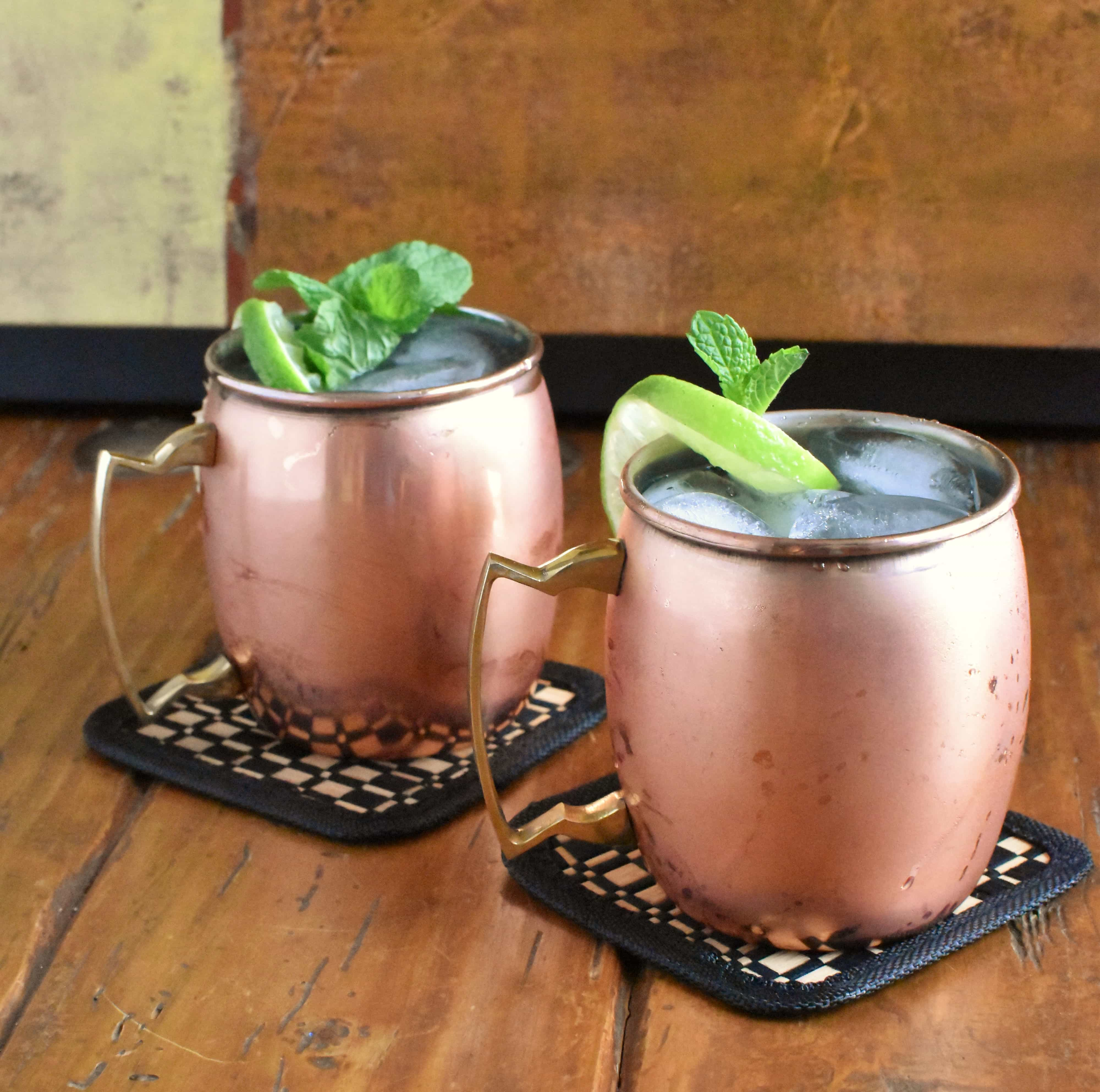 Moscow Mule - What the Heck is it Anyway? - The Spicy Apron