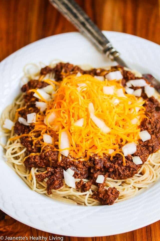 Slow-Cooker-Cincinnati-Chili-2-2 from jeanetteshealthyliving.com for super bowl food ideas