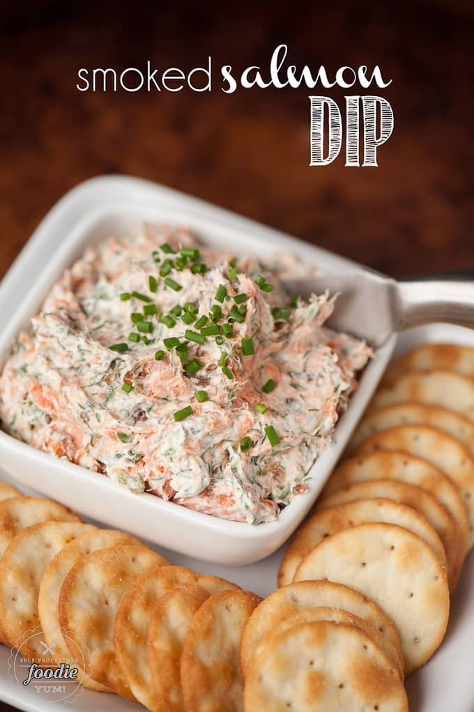 smoked-salmon-dip from SelfProclaimedFoodie.com used for Super Bowl Food Ideas