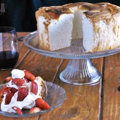 Angel Food Cake and the Secret to Strawberries