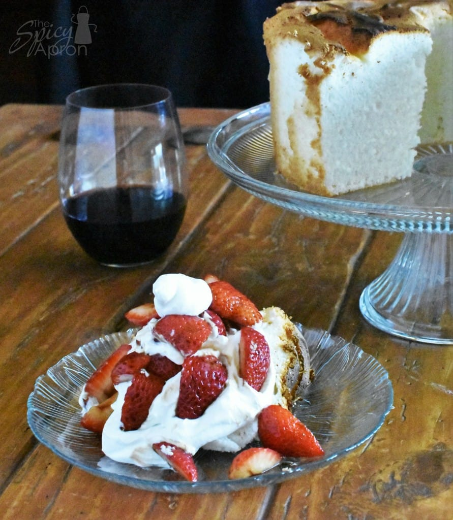 Angel Food Cake Vertical with Watermark
