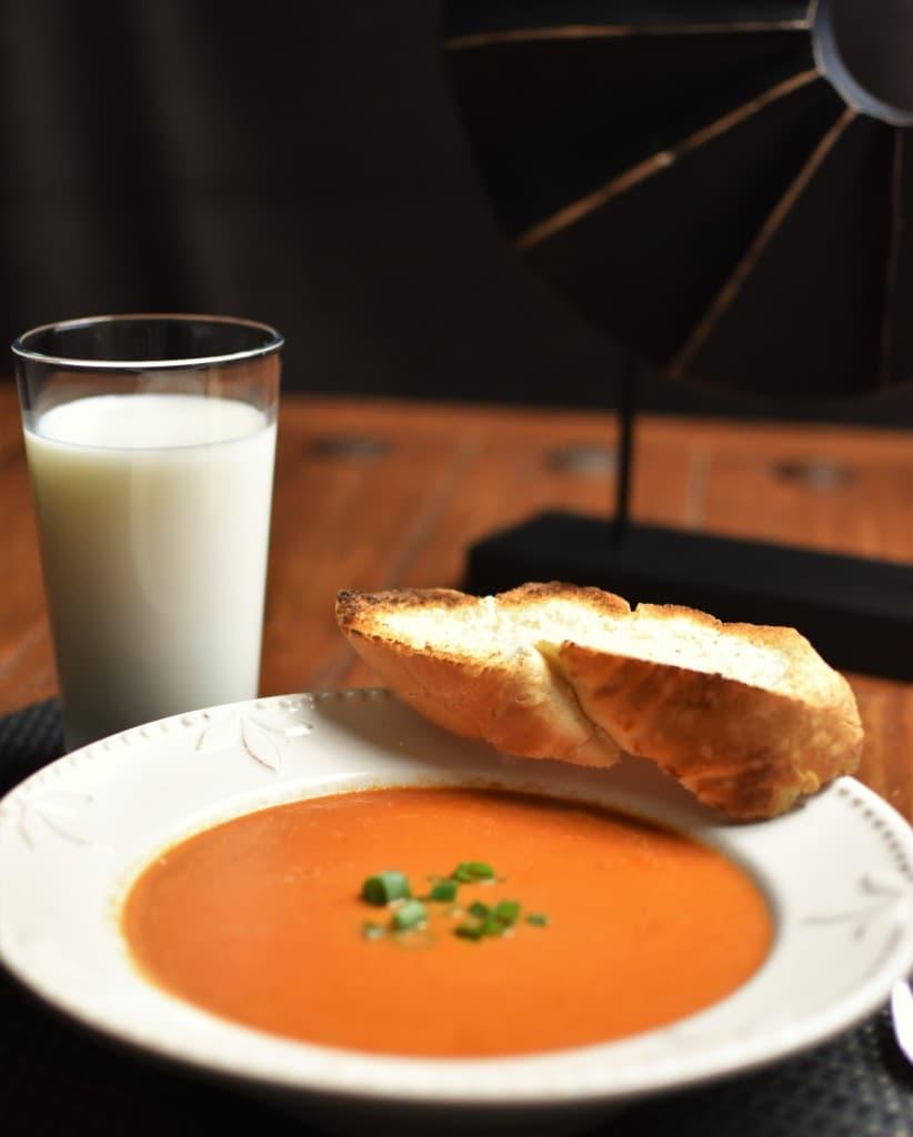 Creamy Tomato Soup Vertical
