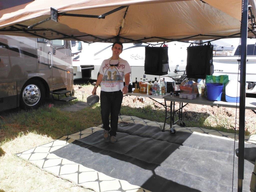 Music Festival Essentials Camp Set up