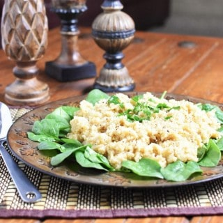Quinoa Pilaf with Orzo and the Need for Leftovers