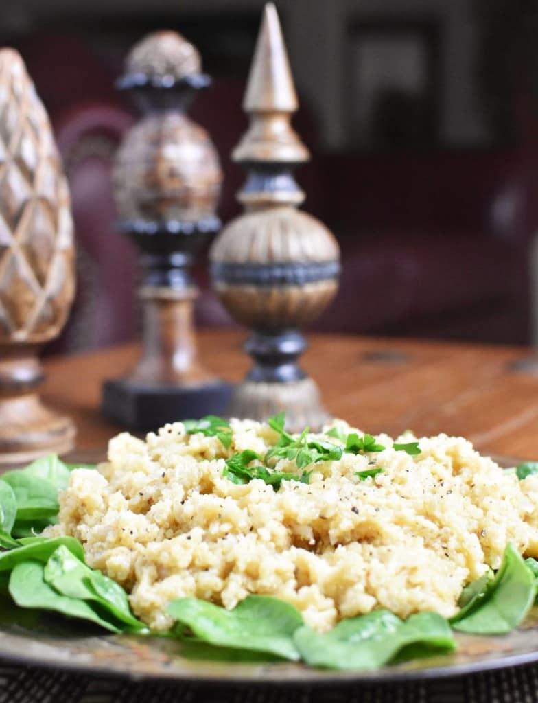 Quinoa Pilaf vertical far