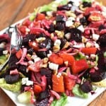 Roasted Beet Salad Front with watermark