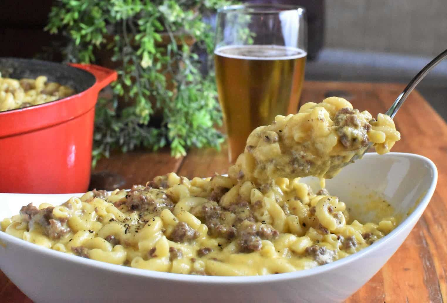 Casseroles for a Crowd Beefy Mac and Cheese