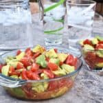 Avocado Tomato Salad for Outdoor Cooking