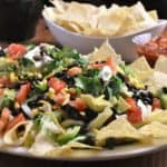 Taco Salad for a Crowd Horizontal with watermark