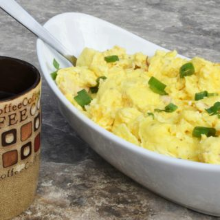 Camping Breakfast Ideas? Easy Scrambled Eggs