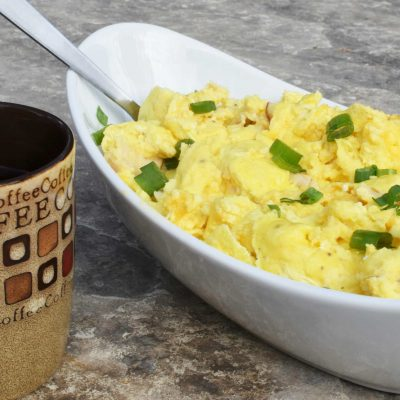 Camping Breakfast Ideas? Easy Scrambled Eggs