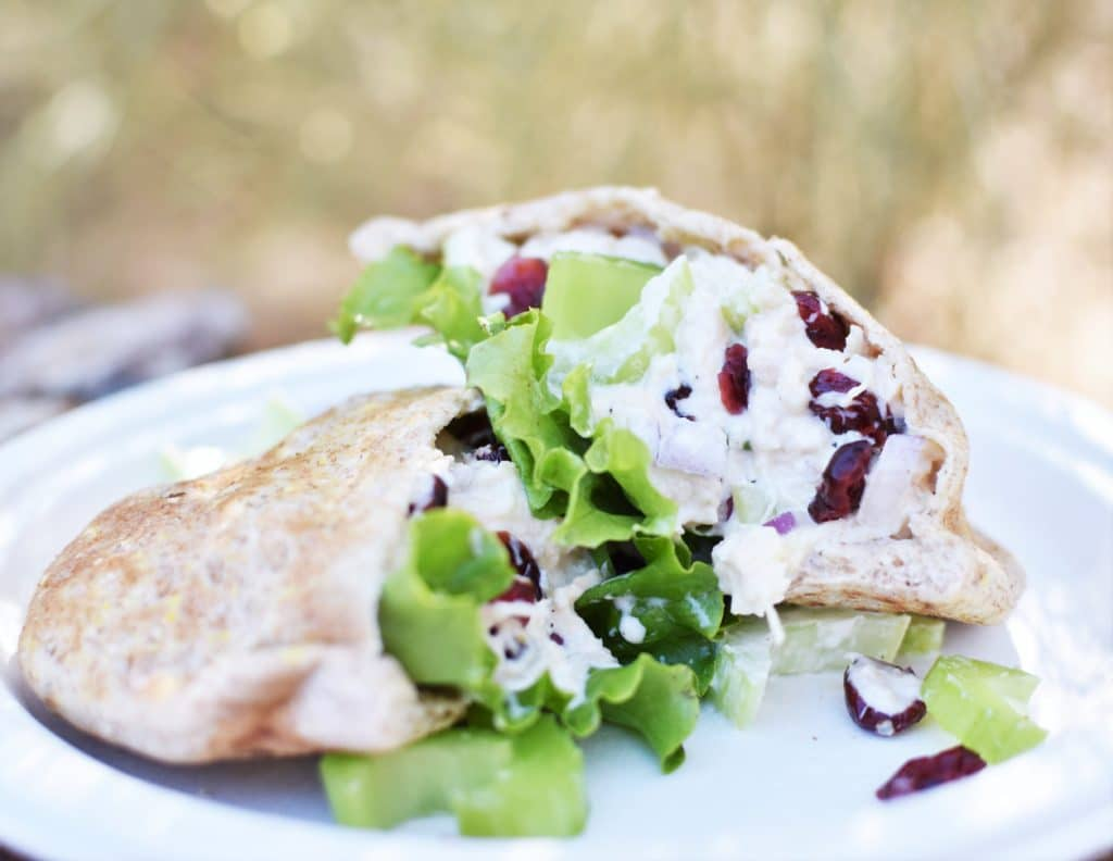 Easy Camping Meals - Chicken Salad