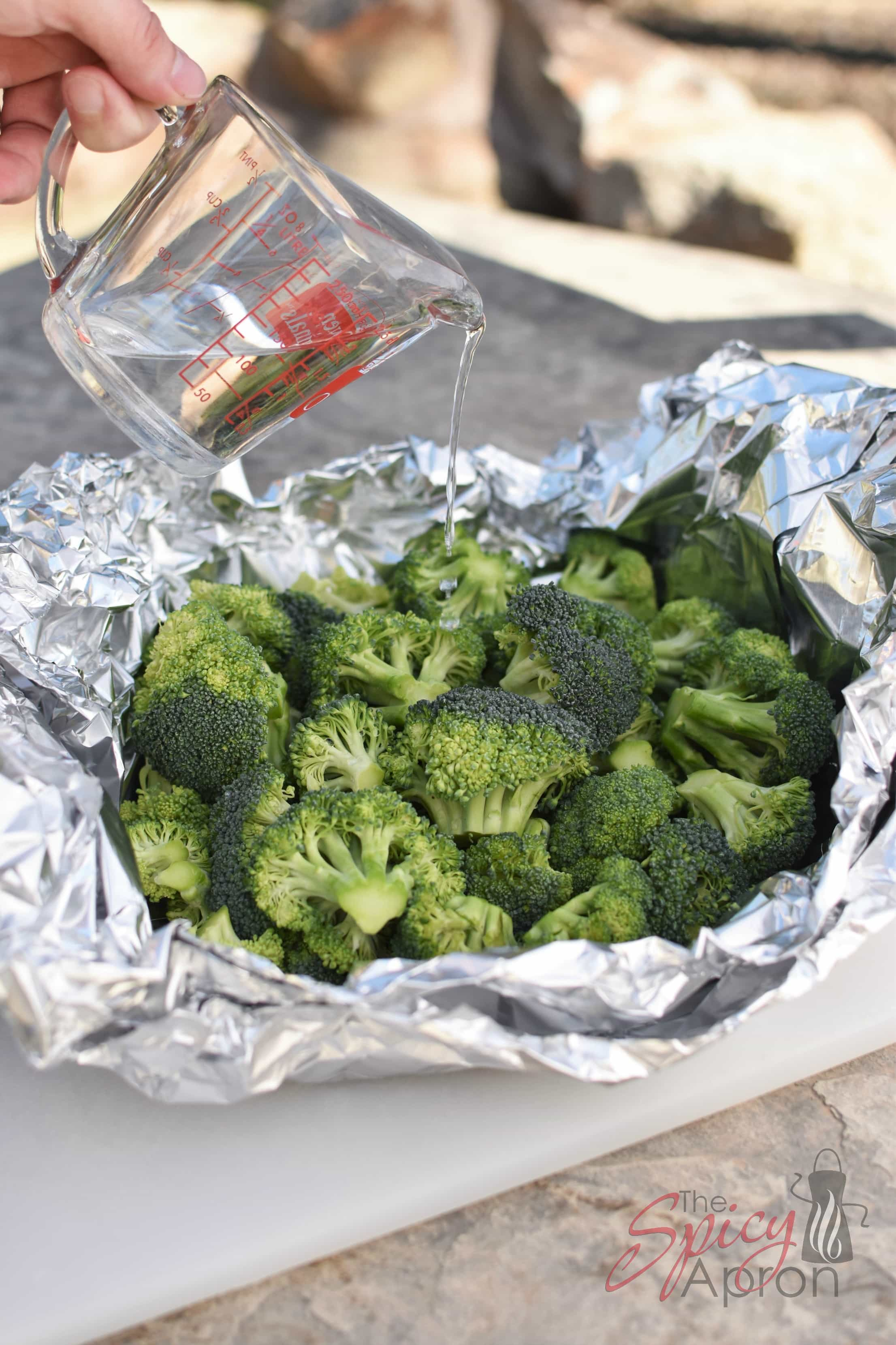 Steamed Broccoli Camping Vertical with watermark