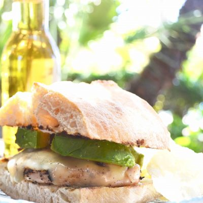 Grilled Chicken Sandwich Recipe for Camping