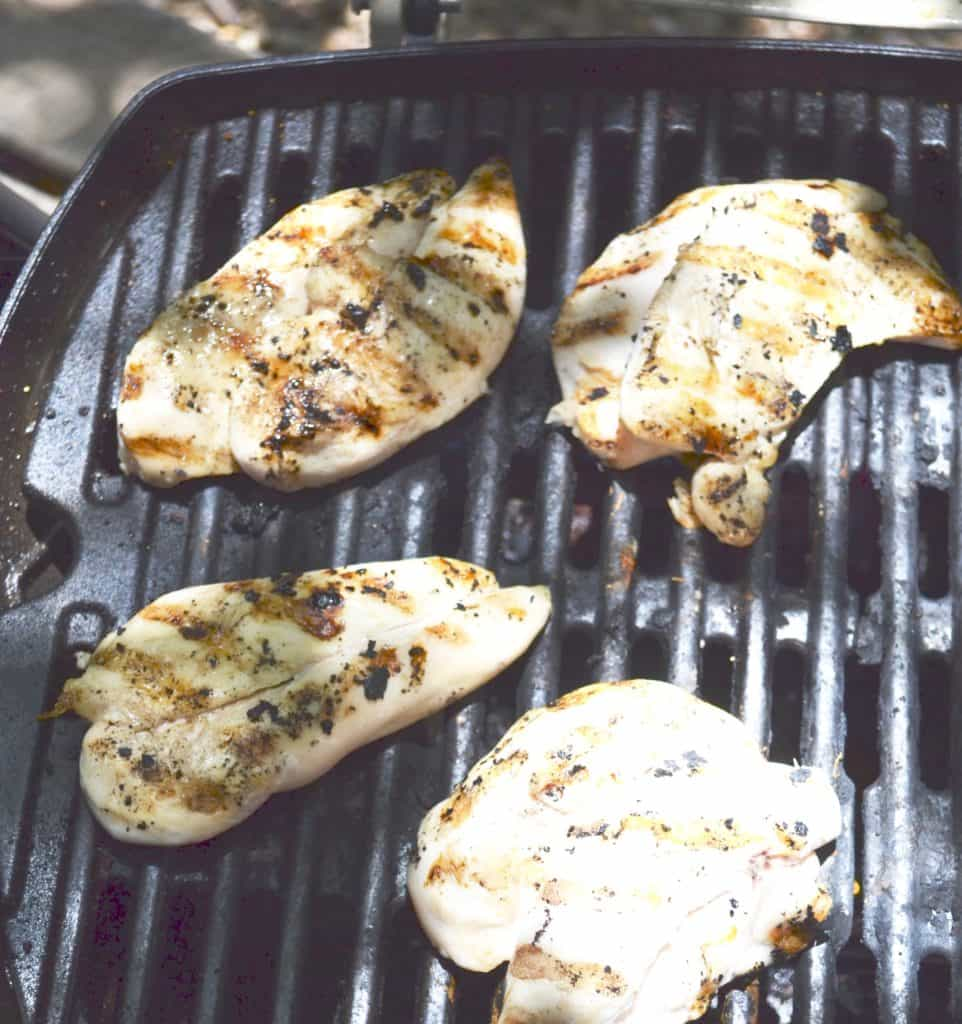 Grilled Chicken Sandwich Recipe on Grill