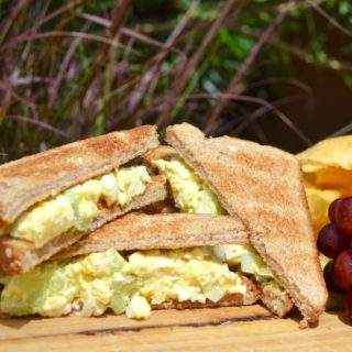 Camping Food Ideas: Egg Salad Sandwich. Delish!