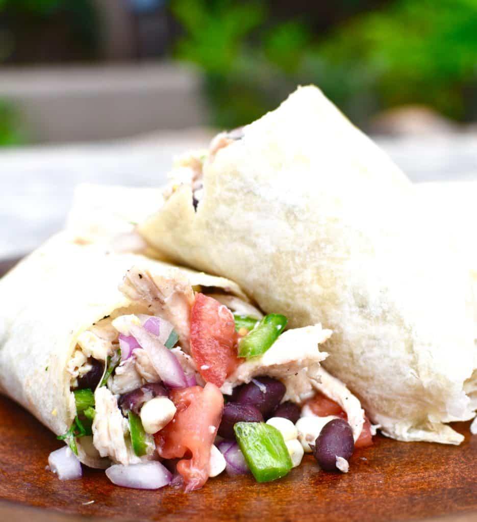 Labor Day Caping Burrito Close Up