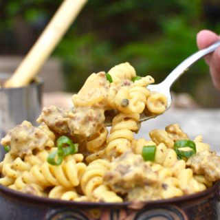 Sausage Pumpkin Pasta – Fall Camping at its Best