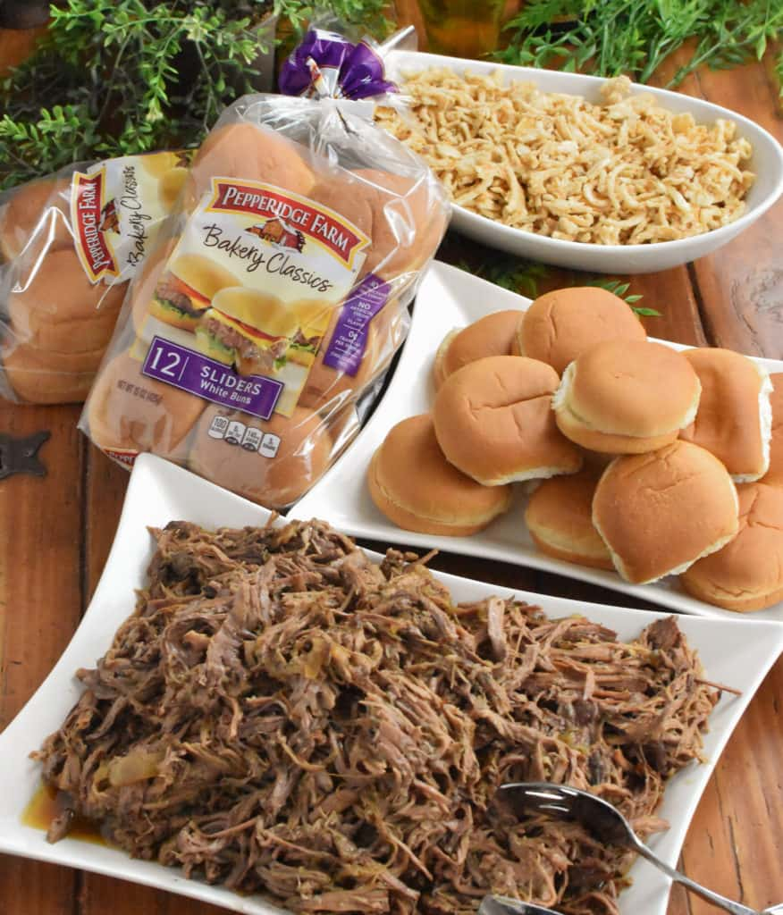 Shredded Beef Sliders - Perfect Game Day Food! - The Spicy ...