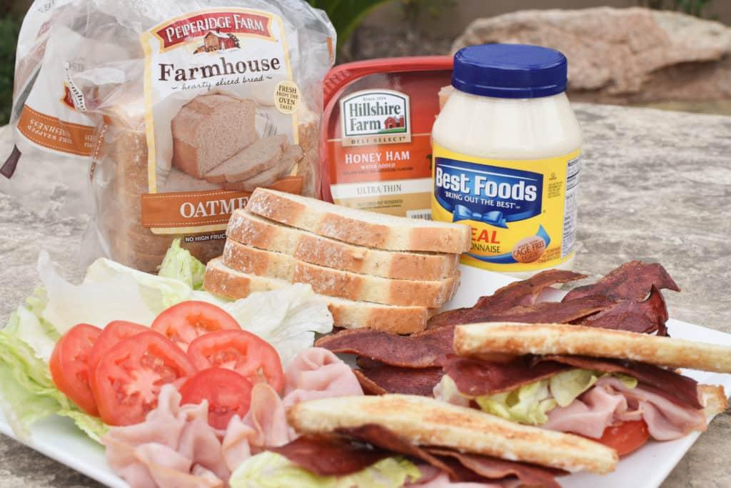 Ham BLT Sandwiches Hero
