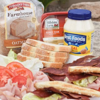 Ham BLT – Easy Camping Food