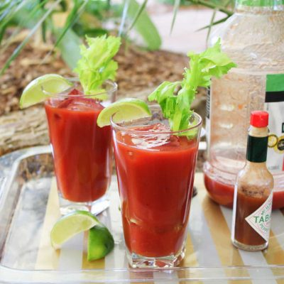 Camping Cocktails – The Bloody Mary!