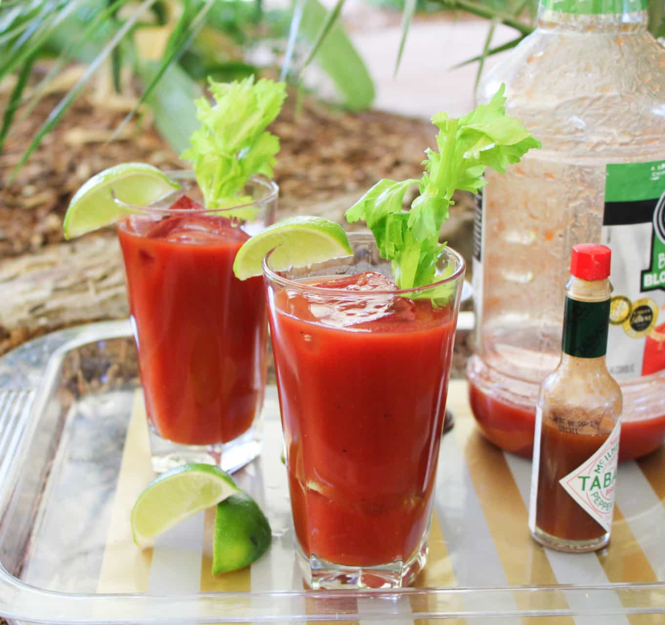 Camping Cocktails - The Bloody Mary! - The Spicy Apron