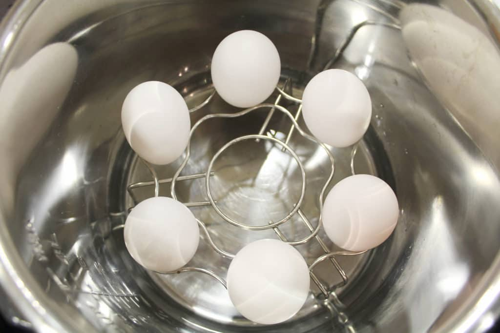 Instant Pot Hard Boiled Eggs In Pot