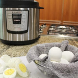 Instant Pot Hard Boiled Eggs – Easy Camping Snack