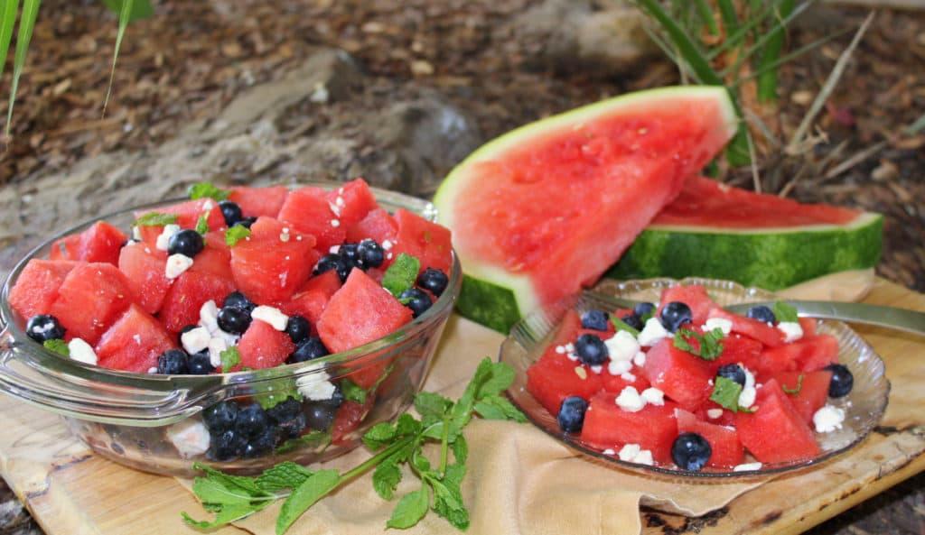 Watermelon Feta Salad horizontal