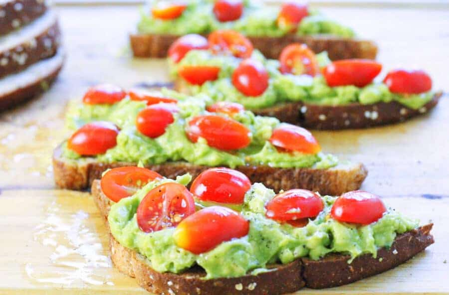 Avocado Toast 4 Slices