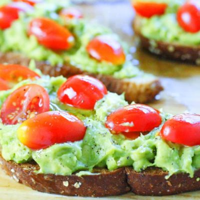 Avocado Toast – Camping Lunch Problem Solved