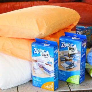 Camping Tips Storage Ziploc Hero