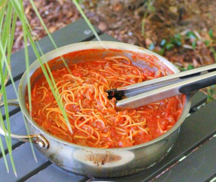 Easy Camping Meals One Pot of Pasta