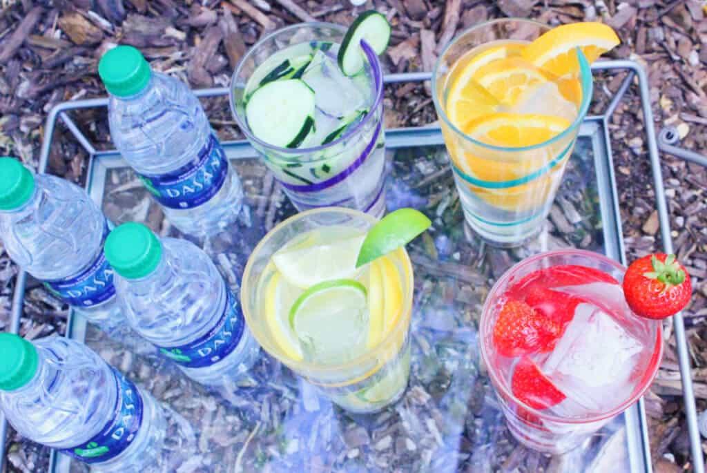 Hydration Dasani Overhead e