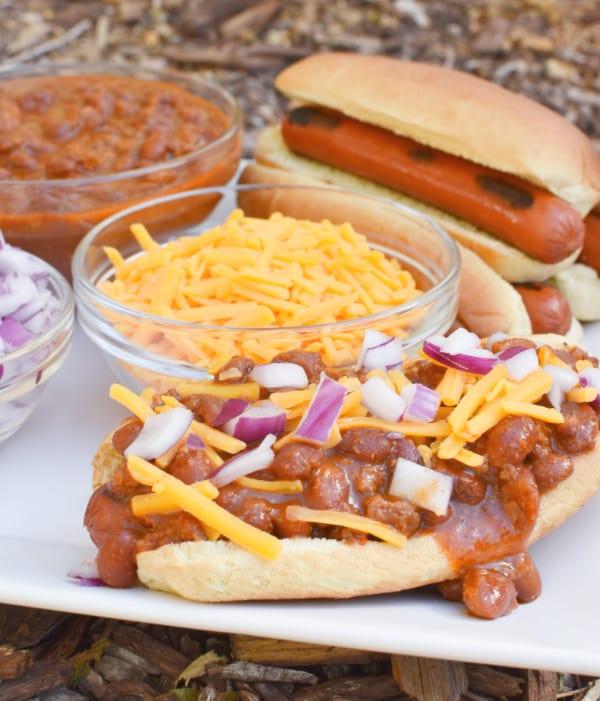 Chili Dog Platter