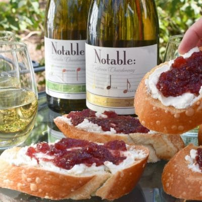 A Camping Wine Party and Bruschetta